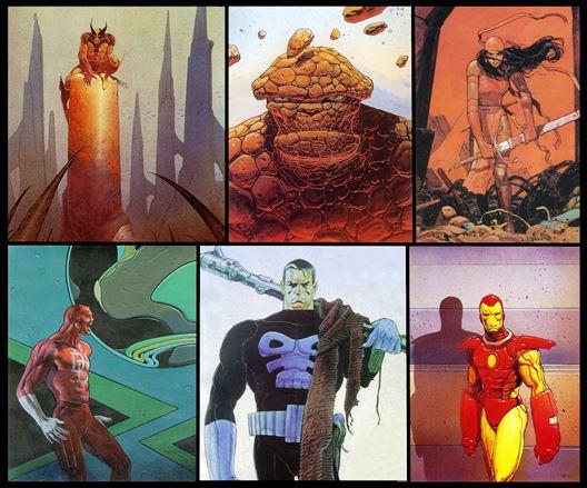 Quand Moebius rend hommage à Marvel