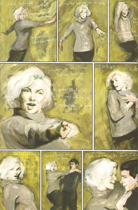 Marilyn a un poids variable en fonction des cases. Les vraies raisons de son suicide ?