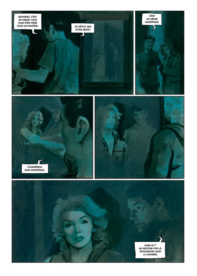 Voyage au bout du miroir pour Marilyn