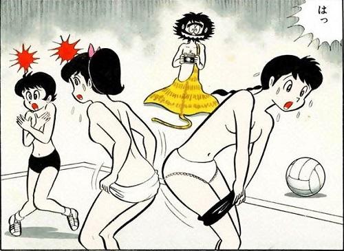 Des profs exhibitionnistes et des collégiens pervers, bienvenue à l'école des jeunes filles en petite culotte.