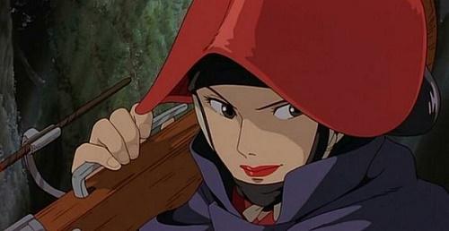 Dame Eboshi, une femme forte qui ne jure que par son arquebuse.