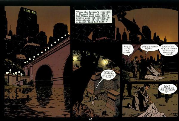 La ville, la nuit… et Batman!