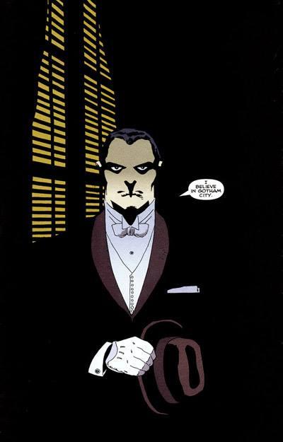 Bruce Wayne chez le Parrain Falcone, avant que les mafieux ne disparaissent un par un…