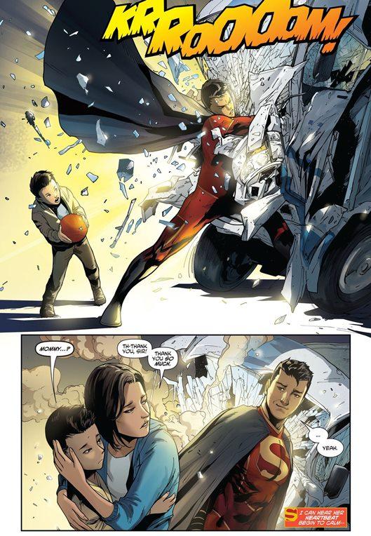 Ce Super-Man sauve aussi des vies.