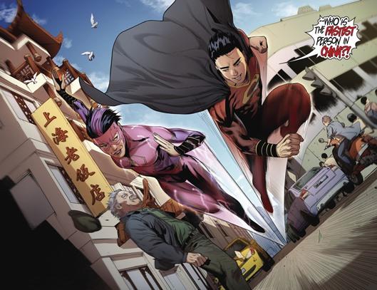 Un classique DC : une course entre Super-Man et Flash