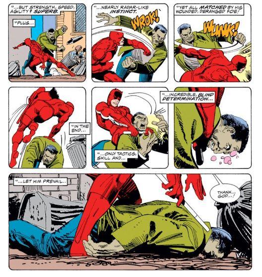 Un Daredevil propre sur lui