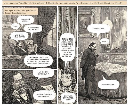 Une BD classique? Non des illustrations du XIXème siècle!
