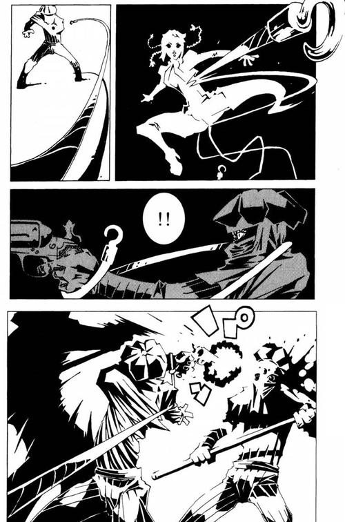 Lily et ses armes à cordes improbables