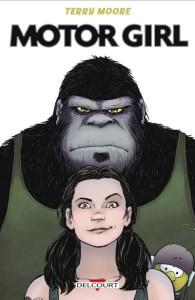 Samantha fait le singe !
