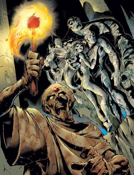 L'Ozymandias des X-Men, par Joe Madureira, plutôt bien ciselé mais qui me laissait de marbre…