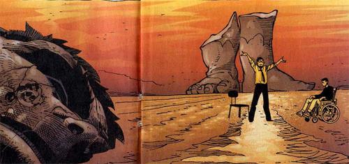 Bruce et Rick; des personnages aux jambes brisées, au propre ou au figuré