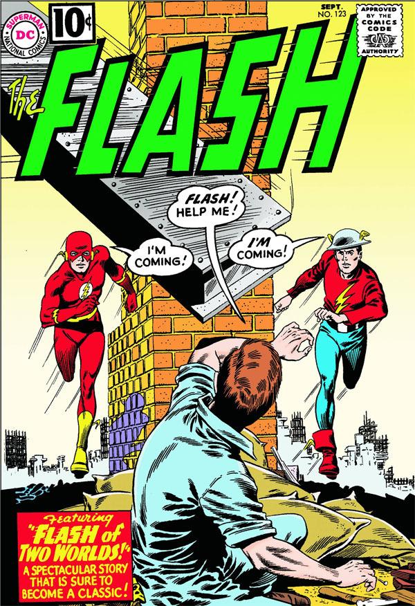 Flash Info : cette couverture n'en a pas l'air, mais elle a bien foutu la merde Chez DC, c'est toujours la crise, ma bonne dame.