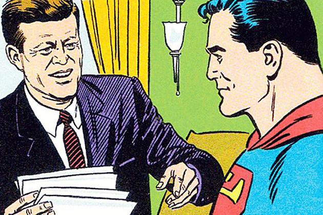 Cette semaine-là, l'épisode où Superman sauvait JFK est sorti le lendemain des facéties d'Oswald. Chez DC, c'est toujours la crise, ma bonne dame.