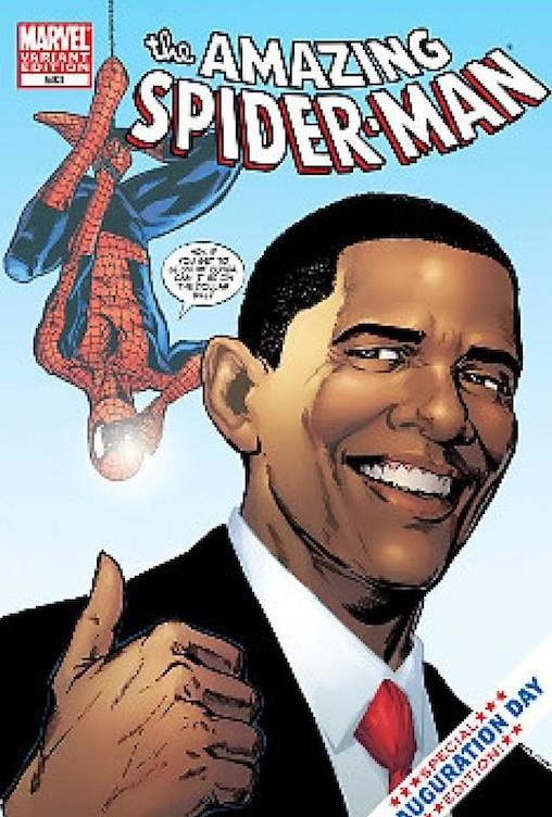 Au bas mot, c'est Obama. Flash Info : cette couverture n'en a pas l'air, mais elle a bien foutu la merde