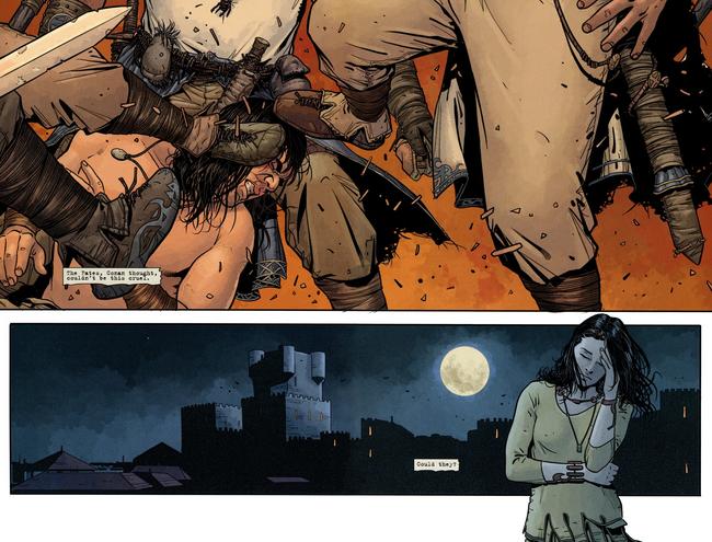 Conan participe à une bataille pour infiltrer la forteresse où demeure Bêlit (Mirko Colak)