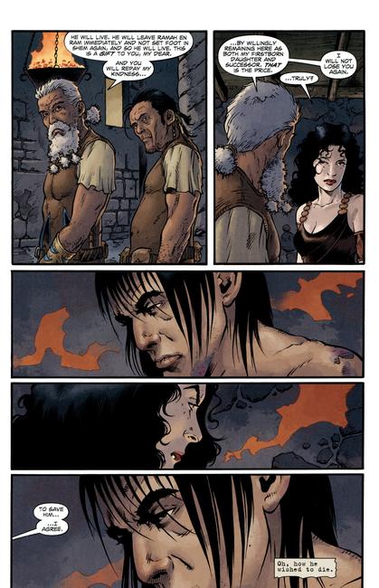 Conan essaiera de récupérer une Bêlit en deuil que son père refuse de laisser repartir (Andrea Mutti)