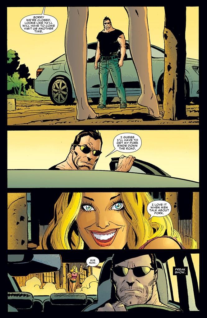 Belle, mais complètement tarée ! ©Marvel Comics