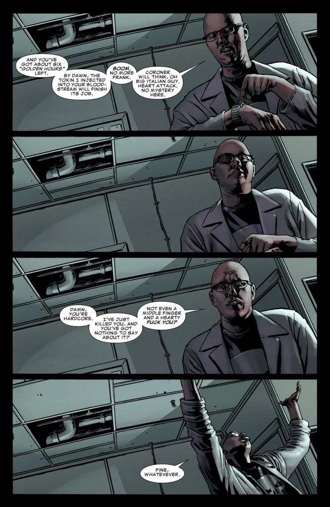 Pitié, pas de mise en scène à la Bendis ! ©Marvel Comics