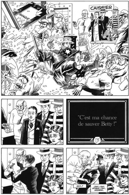 Le cinéma d'Alan Moore & Kevin O'Neil. © Avatar Press Inc