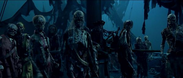 Il y a même des zombies chez les pirates maintenant / ©Walt Disney Imagineering  /source : Disney.wikia
