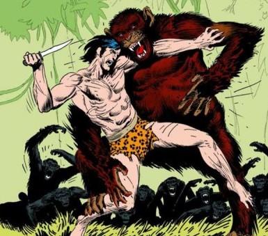 Le Seigneur des singes selon Joe Kubert ! © Dark Horse Comics