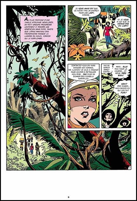 La bande-dessinée d'aventures pour adultes et ados des années 70. © Dark Horse Comics