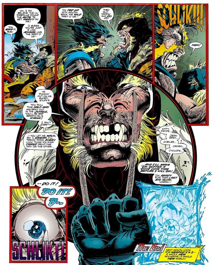Bordel ! Une fin interrompue par Age of Apocalyose !  © Marvel Comics