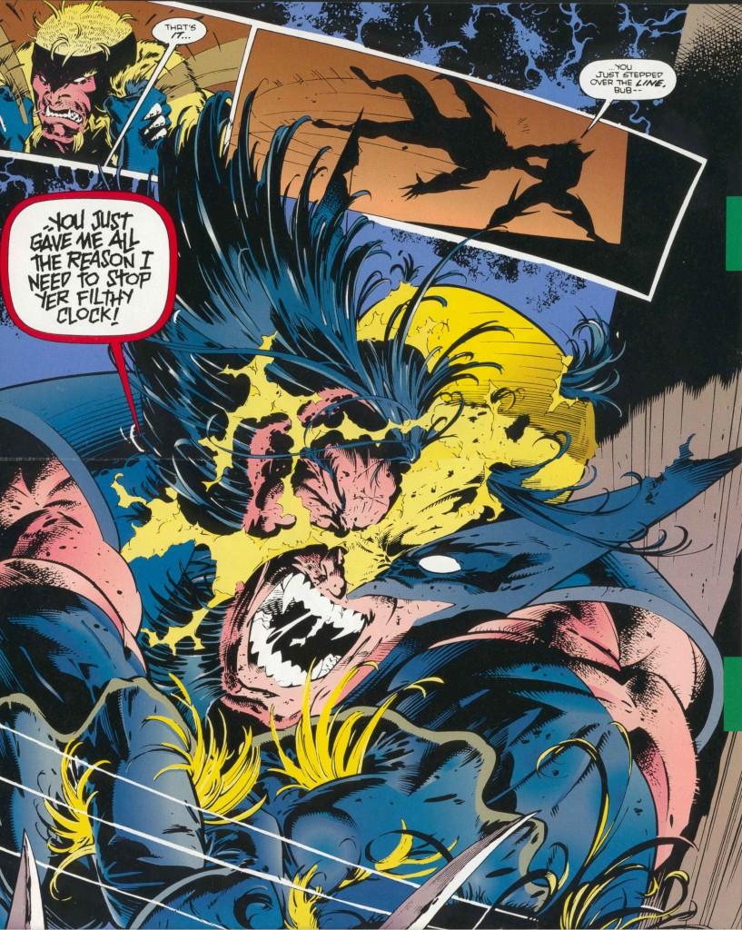 Tu vas arrêter de me faire chieeeeer, oui ?  © Marvel Comics