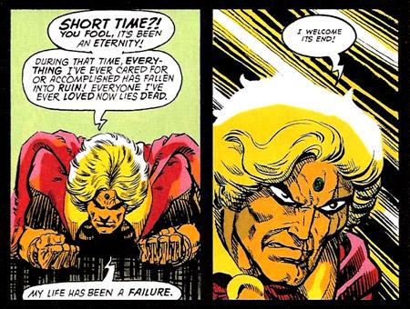 L'éternité, c'est long, surtout sur la fin (C) Marvel Comics