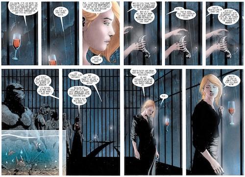 Alicia Masters, à la fois aveugle et clairvoyante  © Marvel Comics