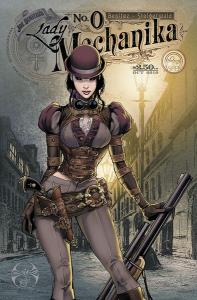 Vous aimez le steampunk?  ©Benitez Productions ©Glenat