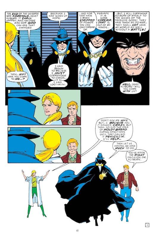 Encore un peu raide parfois… (C) DC Comics