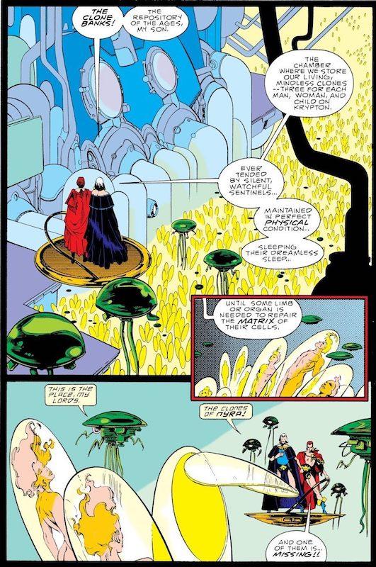 Les vieux croûtons de Krypton se font greffer de nouveaux petits petons (C) DC Comics