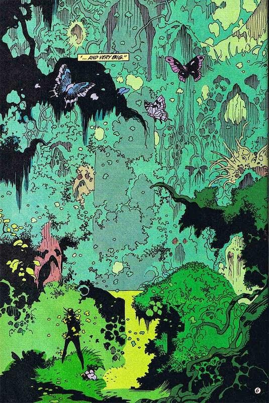 Le côté art-déco de Mignola qui commence à se voir (C) DC Comics