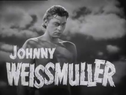 OoooYOoooOooYOooo ! Concours de cris chez Bruce lit !  © MGM.  Source : Wikipedia https://fr.m.wikipedia.org/wiki/Fichier:Johnny_Weissmuller_in_Tarzan_Finds_a_Son!_(1939).png