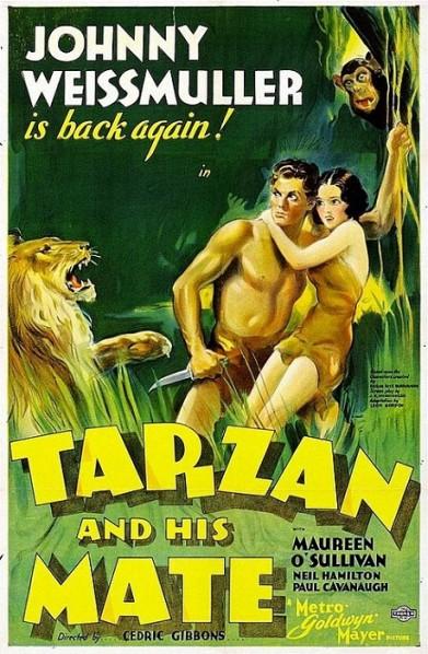 Moi T arzan, toi Jane !  © MGM.  Source : Wikipedia https://fr.m.wikipedia.org/wiki/Tarzan_et_sa_compagne