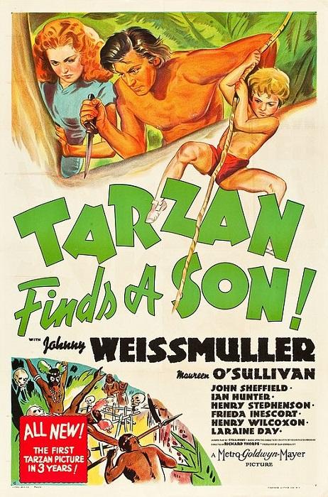 L'HOMME DESCEND DU SINGE (Tarzan) 1/2 | bruce lit