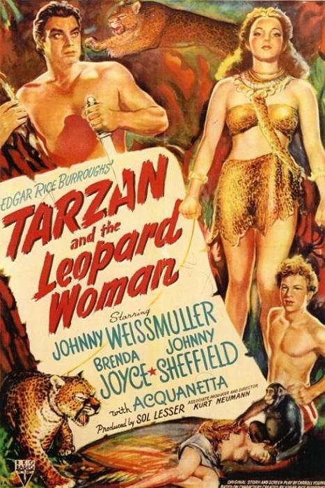 Ki n'en veut du Graour ? © RKO.  Source : Wikipedia https://en.wikipedia.org/wiki/Tarzan_and_the_Leopard_Woman
