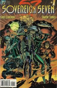 Il y a quelque chose de familier dans cette équipe de outcasts, non?  ©Chris Claremont/DC comics