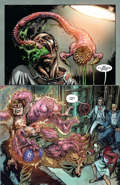 Le quotidien du Witch Doctor  ©Skybound Entertainment ©Delcourt