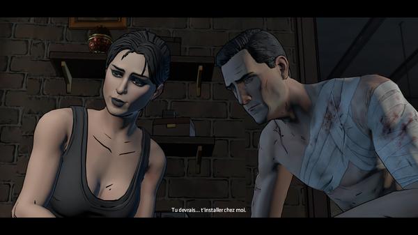 Eh! Doucement, Bruce! Vous venez de vous rencontrer.  ©Telltale Games Source : jeuxvideo.com http://www.jeuxvideo.com/screenshots/451777-0-0