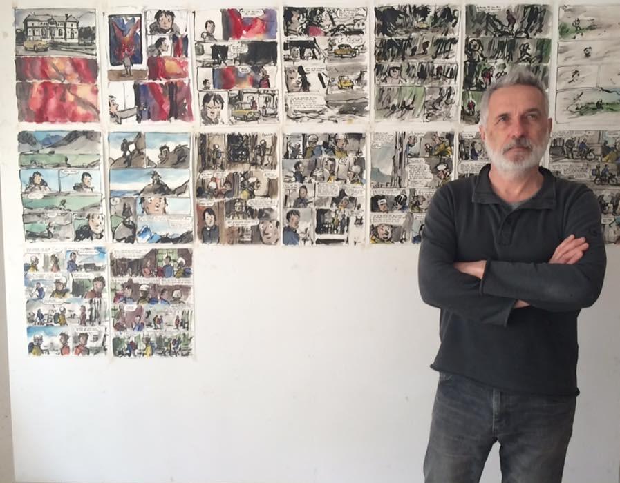 Jean-Marc Rochette et le film de sa vie  (C) Crédit photo Olivier Bocquet