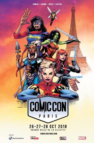 La superbe affiche 100 % féminine  de Mahmud Asrar ! Même Ms Marvel est craquante ! (C) Mahmud Asrar