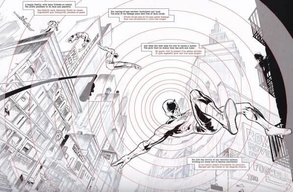 La cuisine de l'enfer, vue par un maître-restaurateur ! Daredevil (c) et TM Marvel Comics
