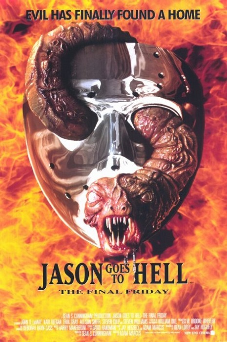 Nouvelle incarnation pour Jason !  © New Line Cinema.  Source : Wikipedia https://en.wikipedia.org/wiki/Jason_Goes_to_Hell:_The_Final_Friday