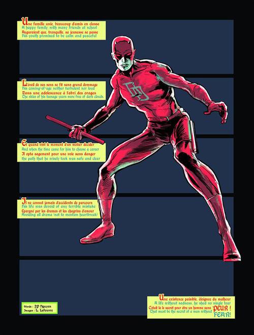Un homme sans peur auquel je trouvais quelques reproches à faire… Daredevil (c) et TM Marvel Comics