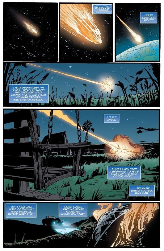 Déjà vu mille fois  © DC Comics