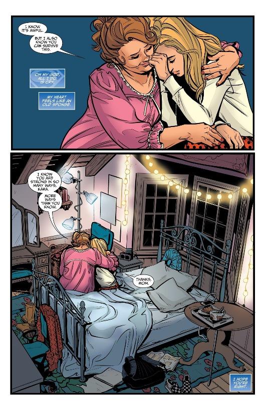 L'inconditionnel amour maternel © DC Comics