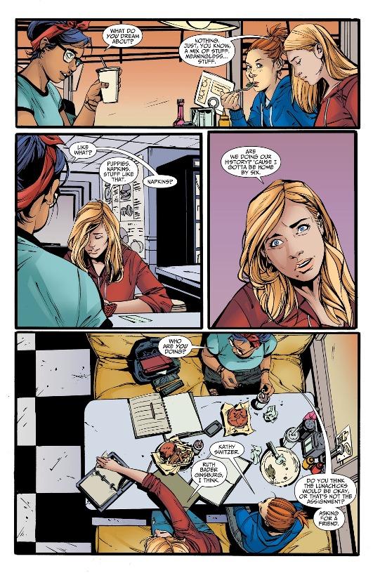 Avec les copines  © DC Comics