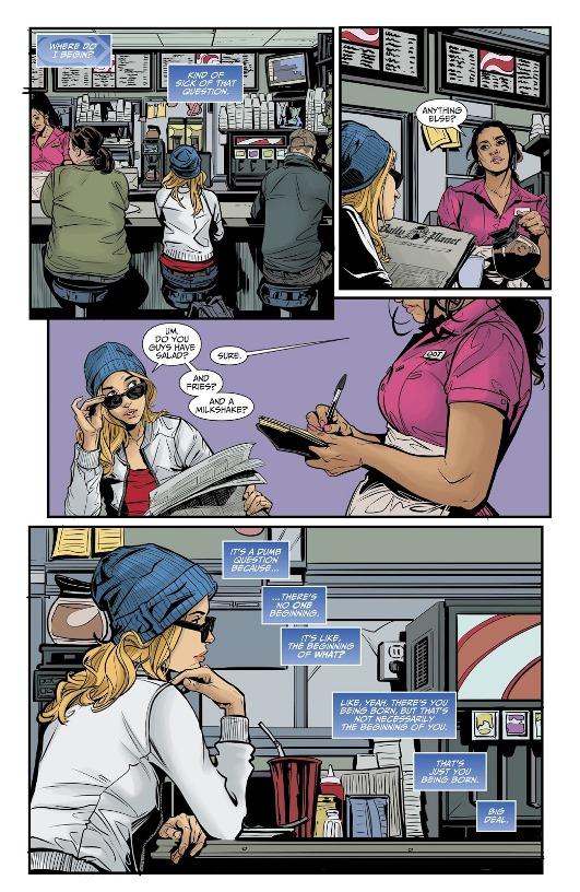 Vers un nouveau départ © DC Comics